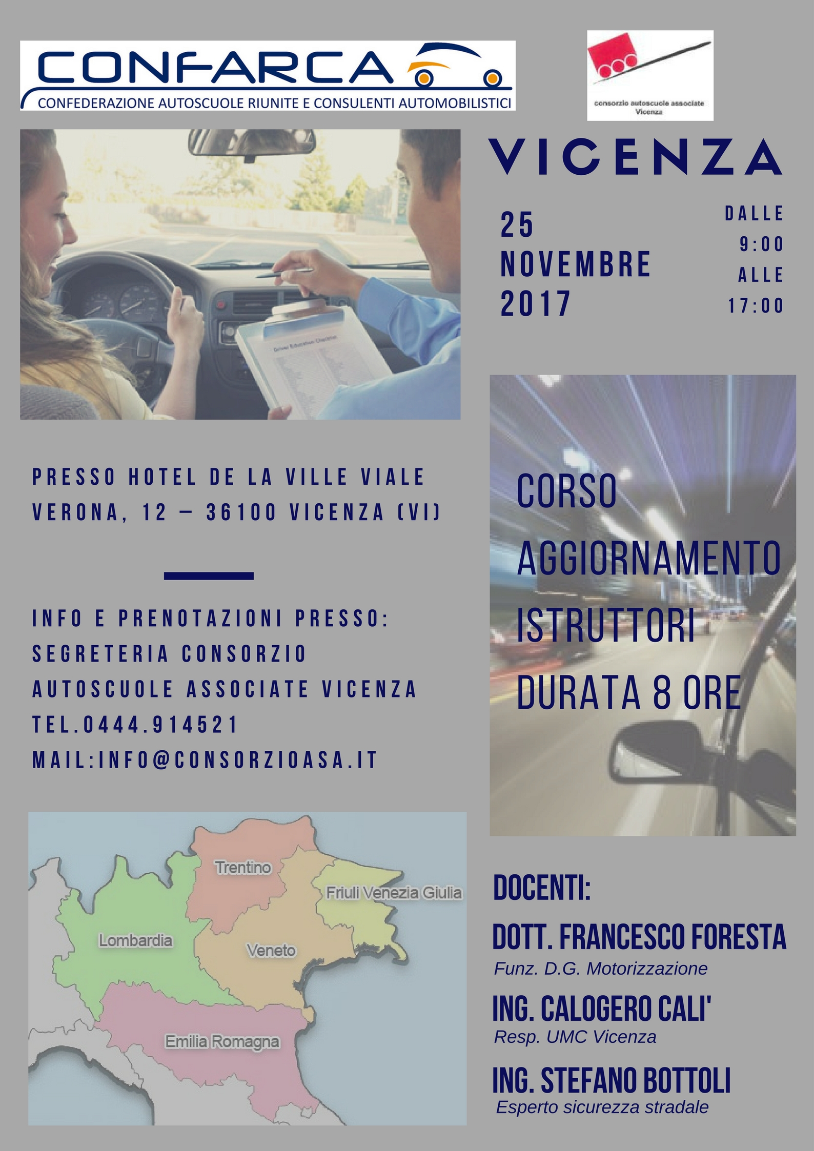 2017-11-25 Corso Aggiornamento Istruttori