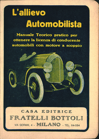 L'allievo automobilista - Casa editrice Bottoli