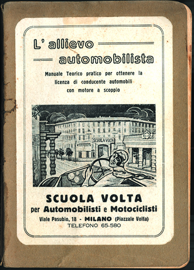 Locandina Allievo Automobilista