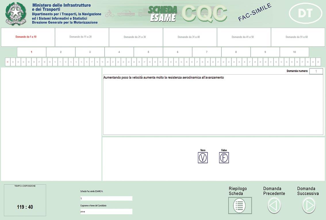 CQC INIZIALE 9
