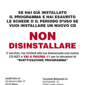 Libretto DVD card CQC