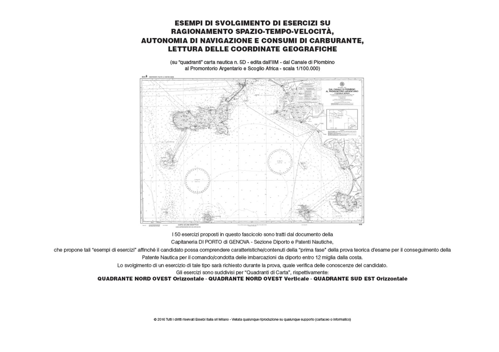 esercizi patente nautica