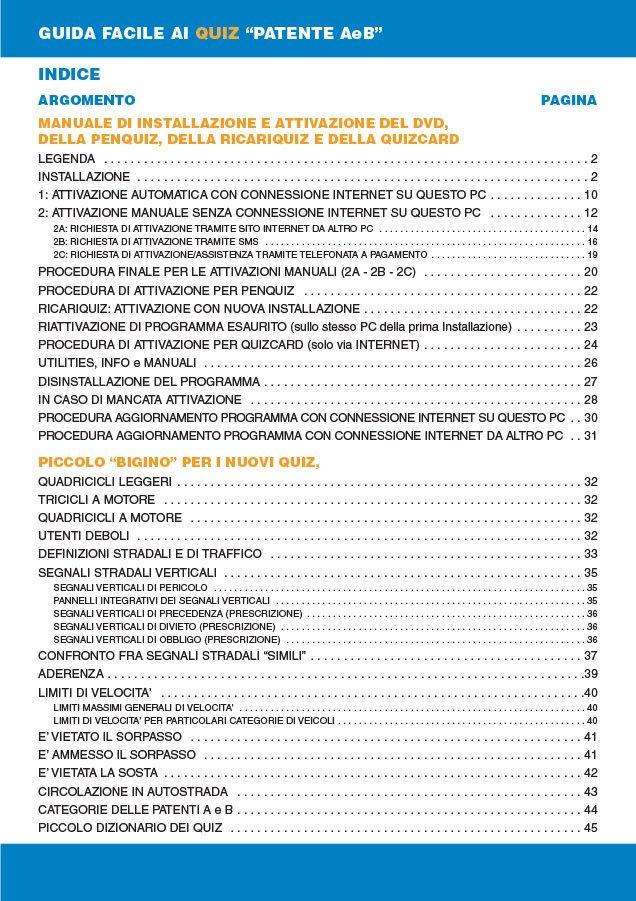 Manuale DVDQuiz 2