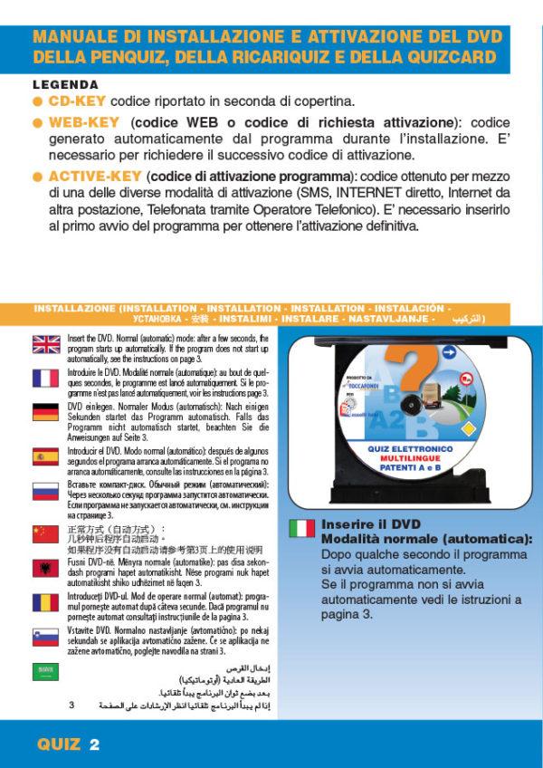 Manuale DVDQuiz 3