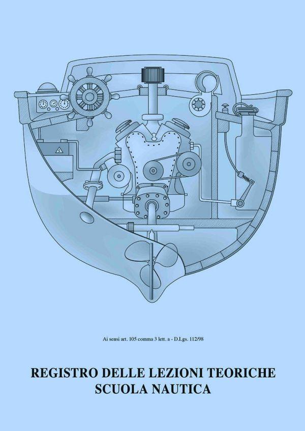 copertina registro lezioni patente nautica