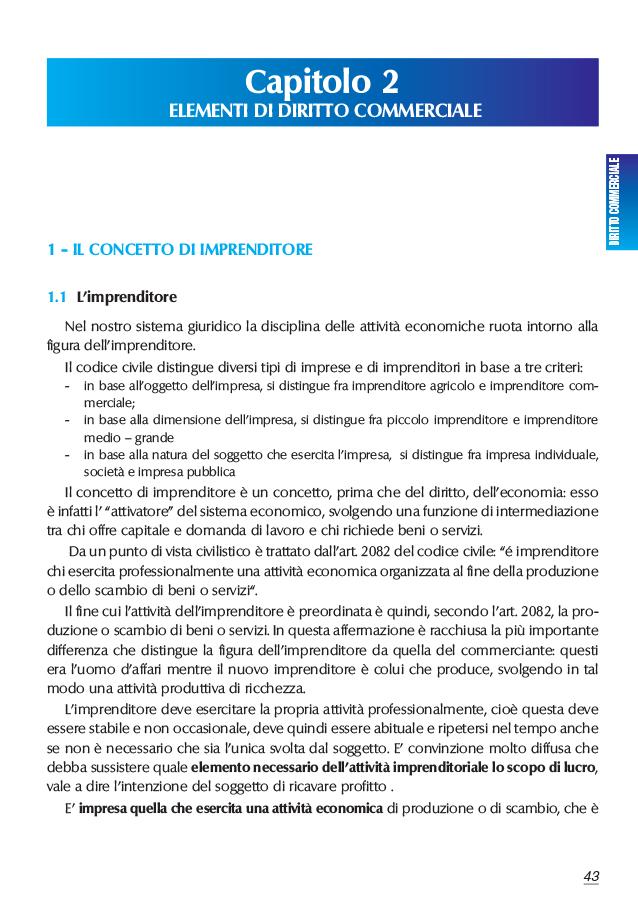 02 Diritto COMMERCIALE