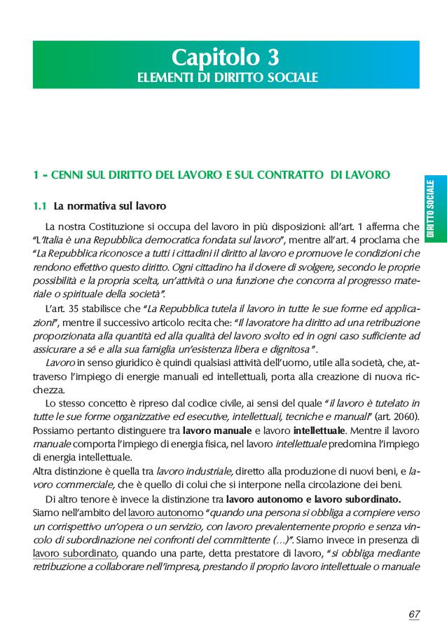 03 Diritto SOCIALE